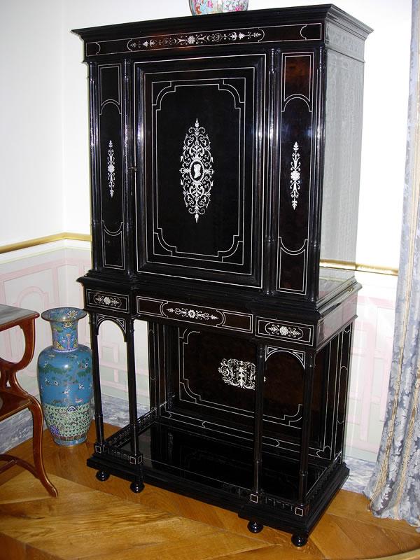 Restauration d'un cabinet Napoléon 3
