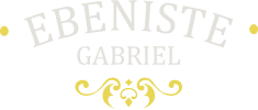 P. Gabriel ébéniste d'art Logo