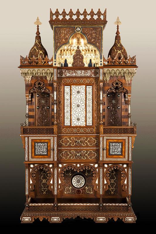 Meuble ottoman autel de prière